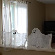 easy floating ghosts