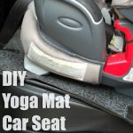DIY Yoga Mat Car Seat Protector