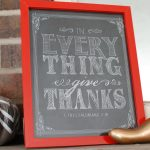 free printable :: Give Thanks