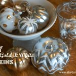 metallic pumpkins