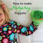 Hedgehog Puppets for the Kids