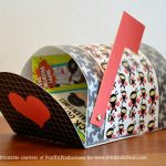 Free Printable :: Valentine's mailboxes