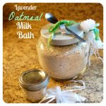 Lavender Oatmeal Milk Bath Salts