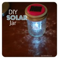 DIY Solar Jar Lights