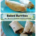 Best EVER Baked Burritos