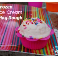 DIY Frozen Ice Cream Play Dough