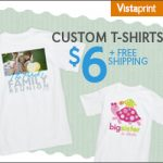 Awesome deal for custom t-shirts, ends Friday.