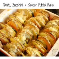 Potato, Zucchini & Sweet Potato Bake