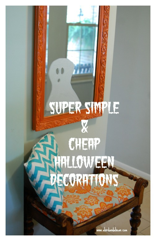 Simple and cheap halloween decorations Halloween decoration diy cheap