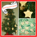 DIY Advent Ornament Tree Tutorial