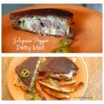 Jalapeño Popper Patty Melt