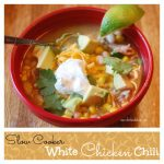 White Chicken Chili in the Slow Cooker
