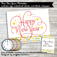 New Years Printable Pack