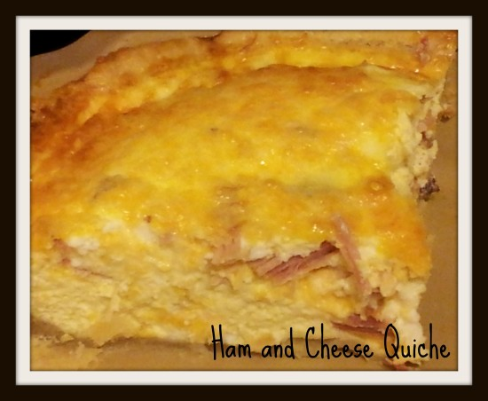 Hame and Cheese Quiche