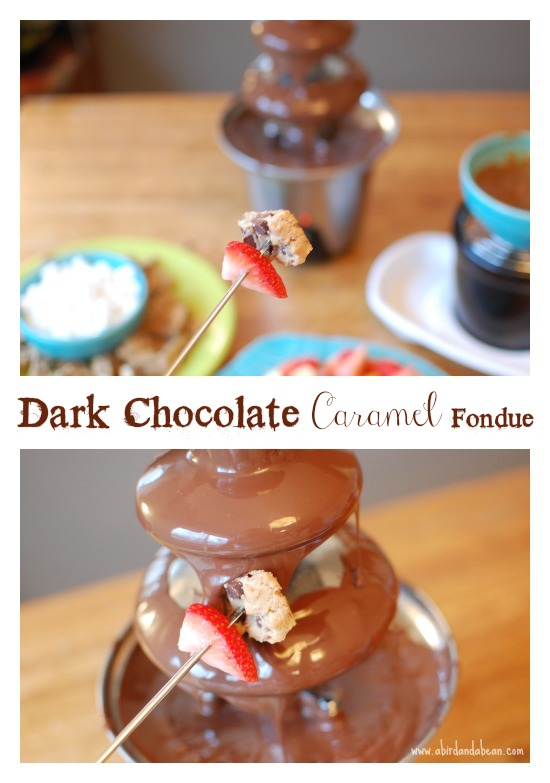 Chocolate caramel fondue recipes easy