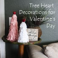 Valentine's Day Heart Tree Decorations