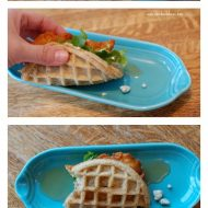'Chicken and Waffles' Waffle Tacos