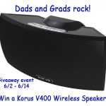 Dads And Grads Rock {Giveaway} Win A Korus Wireless Speaker