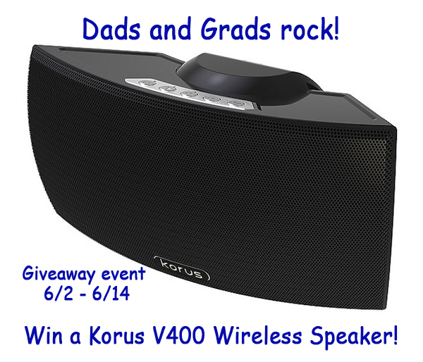 KorusV400SpeakerGiveawayButton