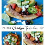 Amazing & Simple Chicken Tostadas