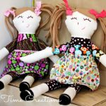 Free Doll Skirt Tutorial & Pattern