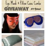 Pure Silk Pillowcase and Eye Mask Giveaway