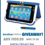 VTech Innotab Max {Giveaway}