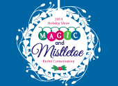 Holiday Exhibit at Krohn Conservatory: Magic and Mistletoe {GIVEAWAY}
