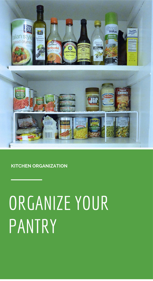 organize your pantry with girl organized