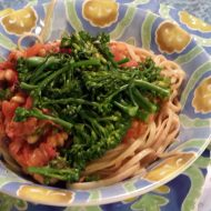 Finished Calabrian broccolini