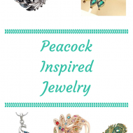 Gorgeous Affordable Peacock Inspired Jewelry