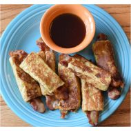 Bacon Filled French Toast Sticks + Two More Simple Sandwich Recipes