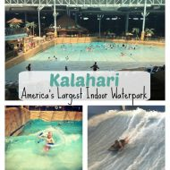 "Kalahari ""America's Largest Indoor Waterpark"""