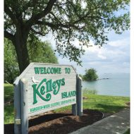 Kelleys Island in Lake Erie