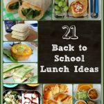 21 Back to School Lunch Ideas