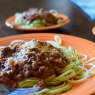 Grain-Free Spaghetti Night with a Tuscan Twist