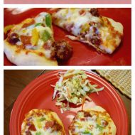 Sloppy Joe Mini-Pizzas