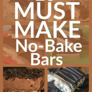 20 Must Make No-Bake Bars