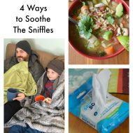 How I Soothe Sniffles + The Best Chicken Soup on the Planet