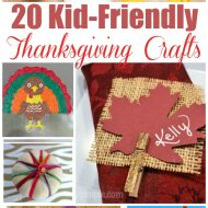20 Easy Thanksgiving Crafts For Kids