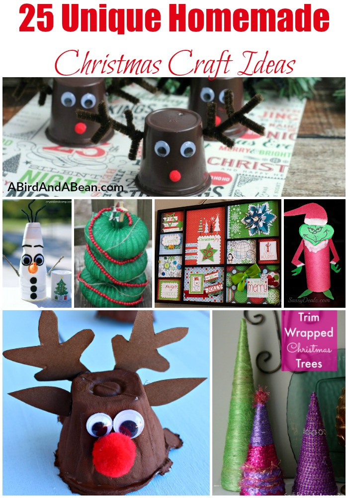 Christmas Craft Ideas like these are just what you need to create fun memories with your kids! Make these amazing crafts just in time for the holidays!