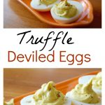 Truffle Deviled Eggs :: And A Giveaway