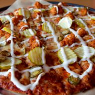 Nashville Hot Chicken Pizza and a {Giveaway}