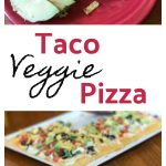 Taco Veggie Pizza