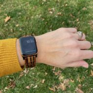 The Jord Wooden Apple Watch Band {Giveaway}