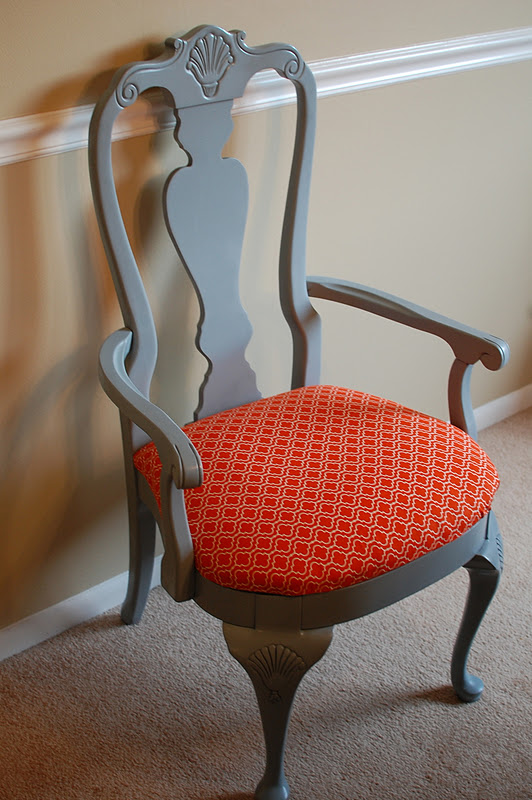 Dining Room Chair Redo