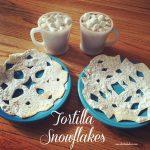 Tortilla Snowflakes