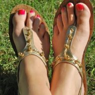 guest post – fancy sandal refashion
