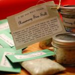 homemade rosemary sea salt