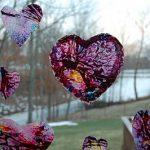 wax hearts